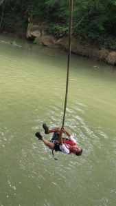 Let Go!!!! And let yourself take a leap of faith into creating stronger communities and a cleaner rivers!