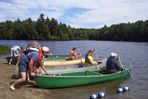 canoe-launch